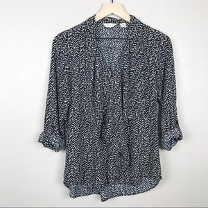 Anthropologie 11.1.TYLHO Size M Ruffle Top